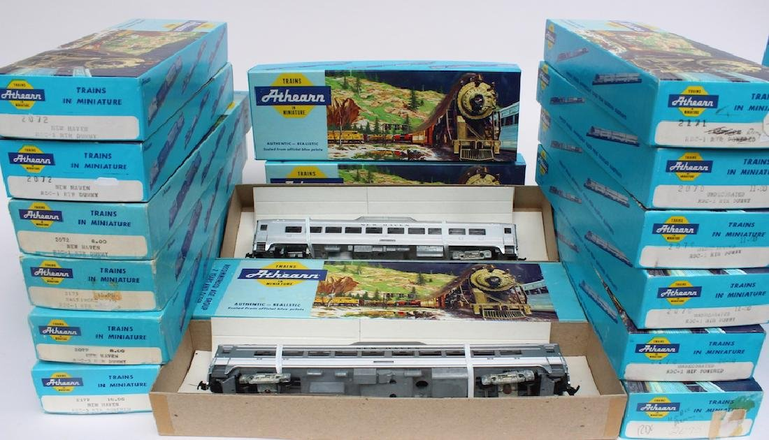 Athearn HO Trains Store Stock in Boxes