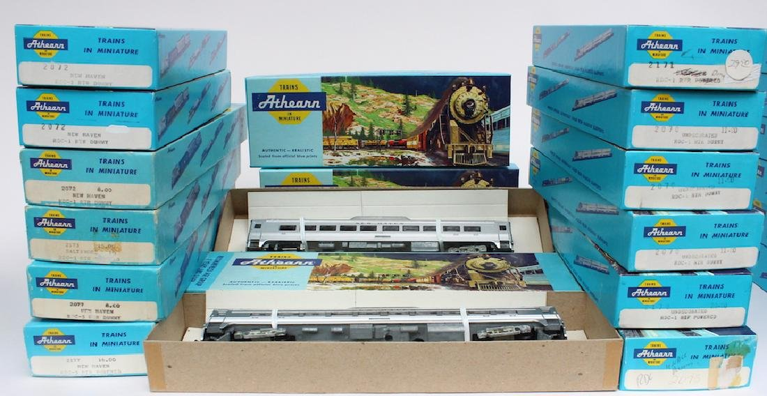Athearn HO Trains Store Stock in Boxes - 2