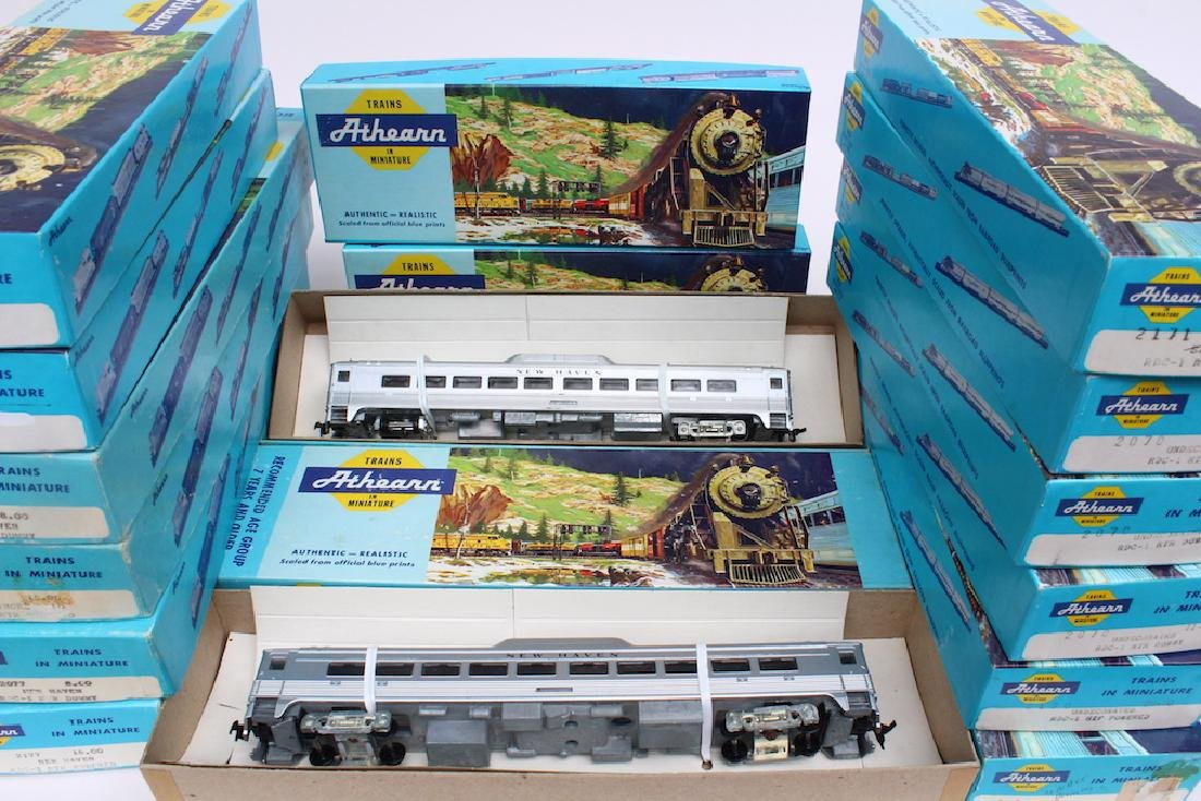 Athearn HO Trains Store Stock in Boxes - 3