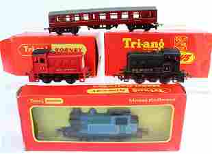 TriAng Hornby 3 Boxed Locomotives Car