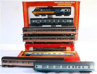 Hornby High Speed Train Pack Set in Box