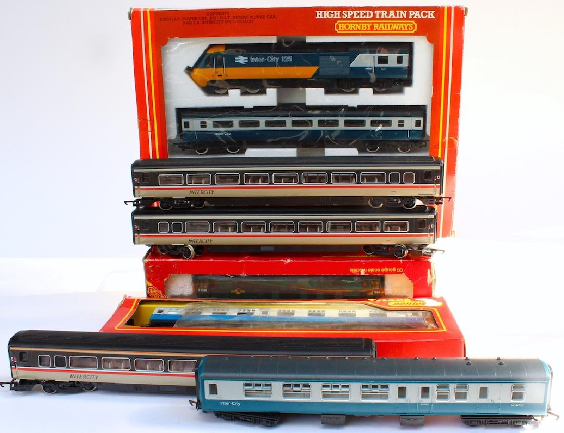 Hornby High Speed Train Pack Set in Box &