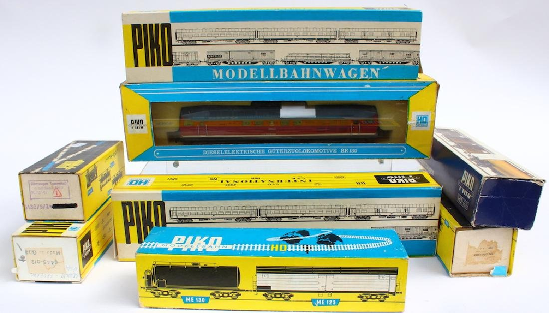 Piko Train Lot Boxed Including Large Diesel