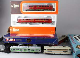 Lima HO Train Lot Proto Engine Yonezawa Cars