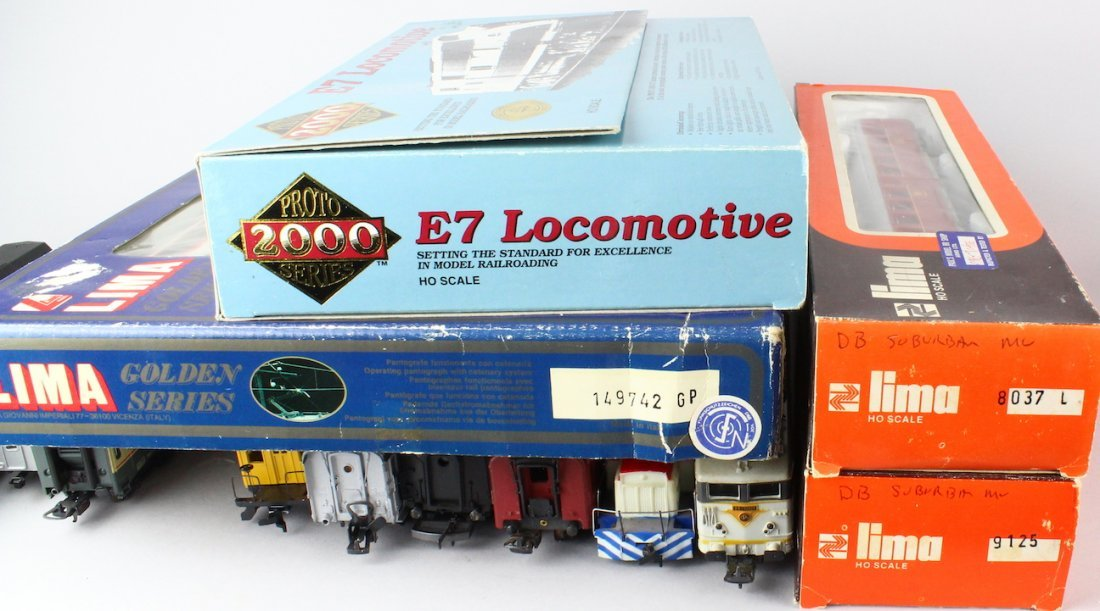 Lima HO Train Lot, Proto Engine, Yonezawa Cars - 2