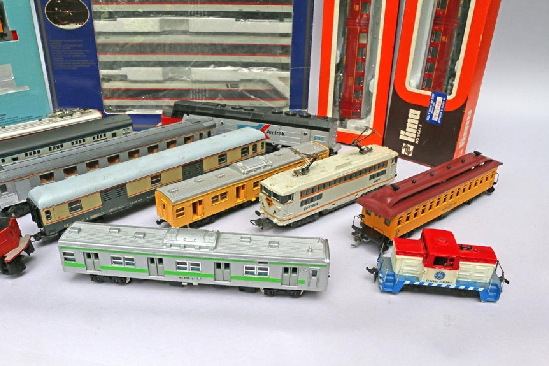 Lima HO Train Lot, Proto Engine, Yonezawa Cars - 3