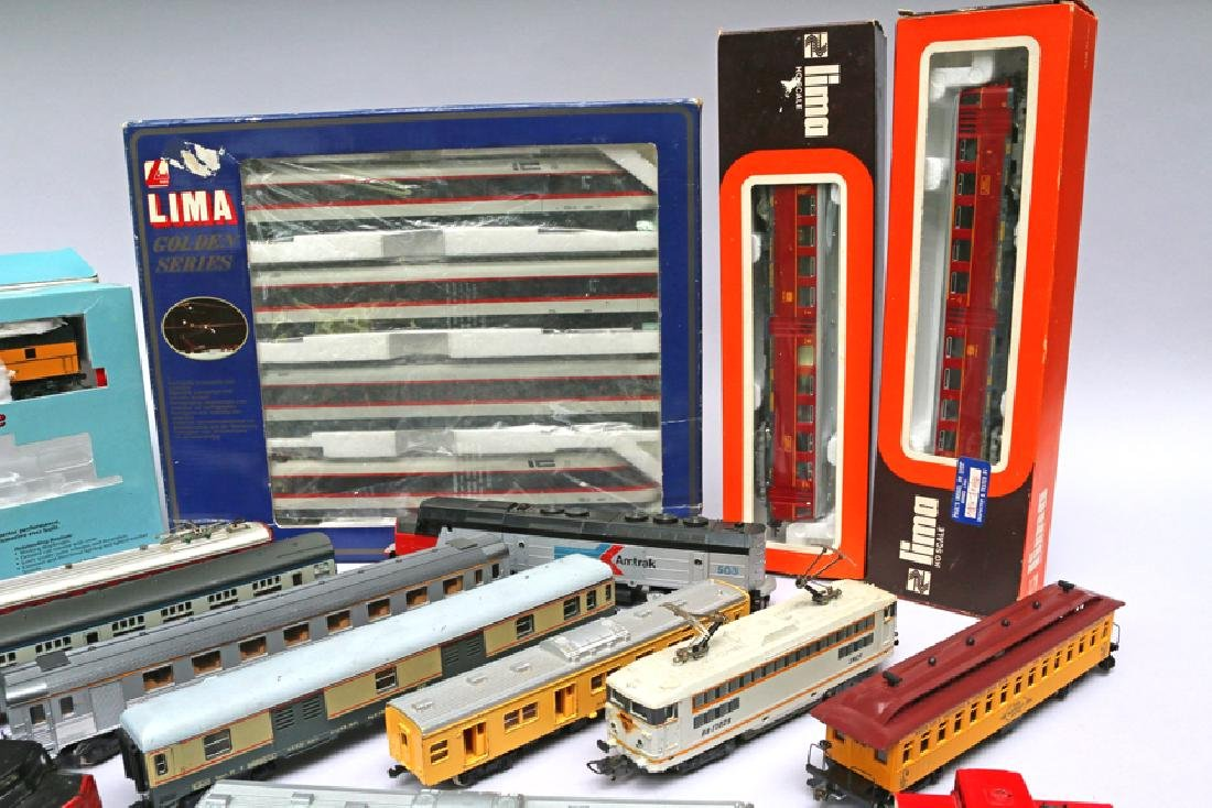 Lima HO Train Lot, Proto Engine, Yonezawa Cars - 4