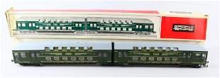 Schicht HO Doppel Stockzug HO Train In Box