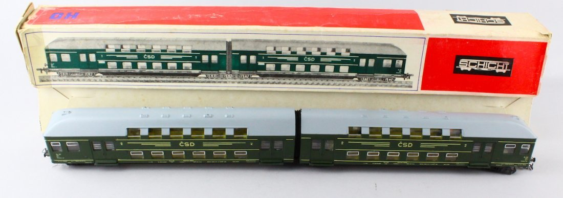 Schicht HO Doppel Stockzug HO Train In Box - 2