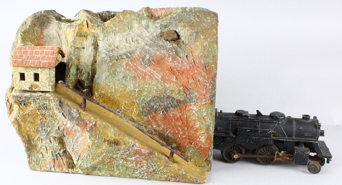 Lionel 1011 Engine and Mountain Tunnel - 5