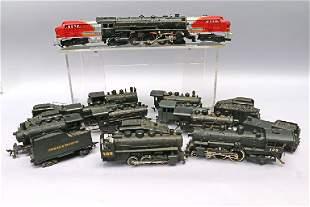 HO Train Engine Lot