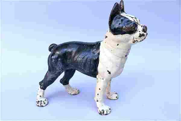 Hubley Boston Terrier Cast Iron Door Stop