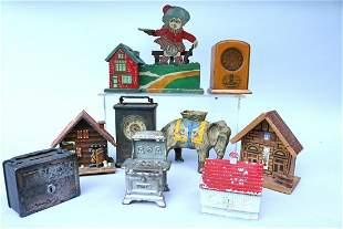 Still Bank Lot Radio Scotsman Elephant Oven