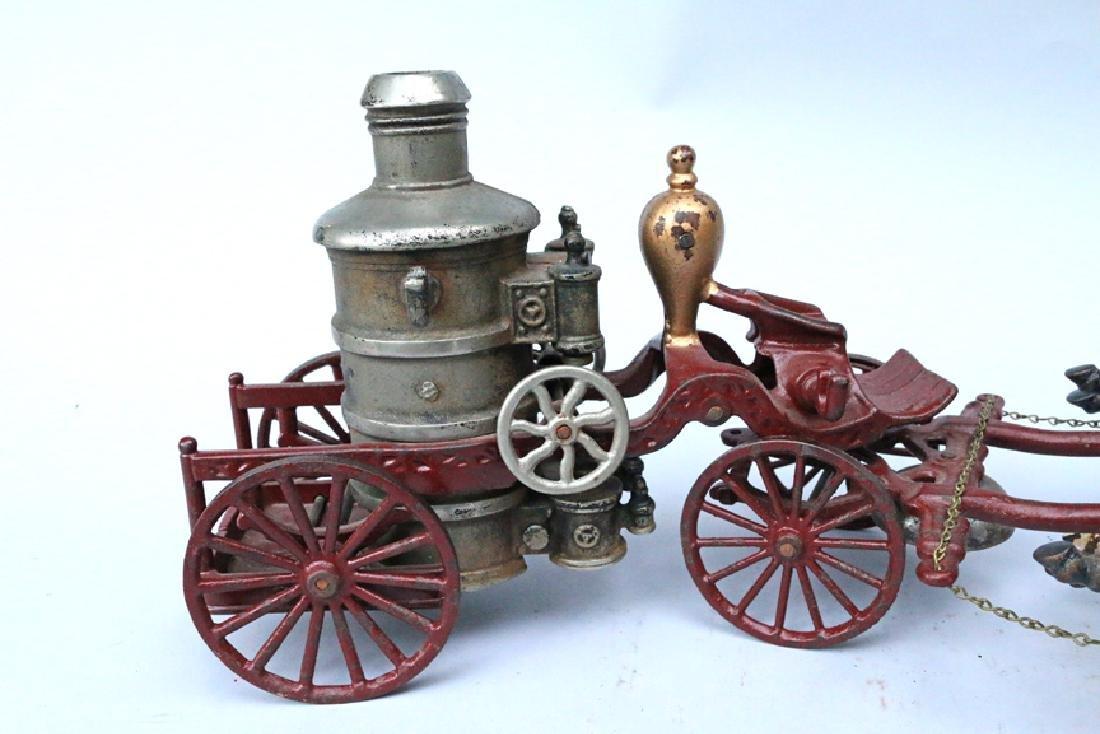Cast Iron Fire Pumper Large - 3