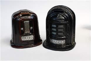 Pair of Fobrux Porcelain Heater Banks
