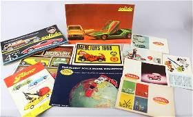 1960s Tonka, Tekno, Mebe, Solido Toy Catalogs