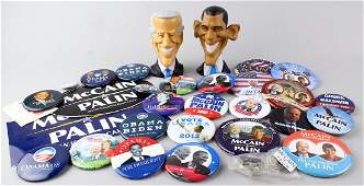 2008 Obama Biden & McCain Palin & Figures