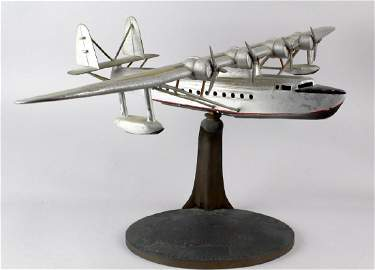 1930s Travel Agent Pan Am Airplane Flying Clipper Large