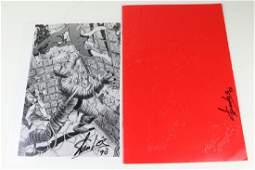 Stan Lee Signed Fantastic Four Photo Lot