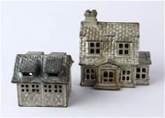 Colonial House & 2 Car Garage Bank A. C. Williams