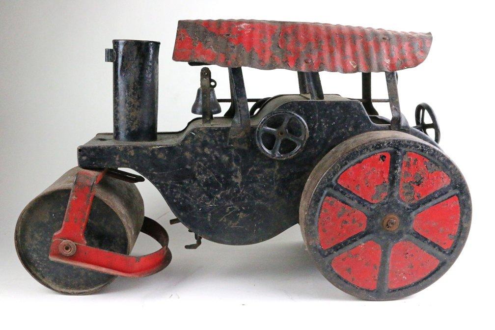 Buddy L Keystone Pressed Steel Steam Crane Tractor Lot - 2