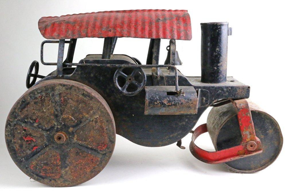 Buddy L Keystone Pressed Steel Steam Crane Tractor Lot - 3