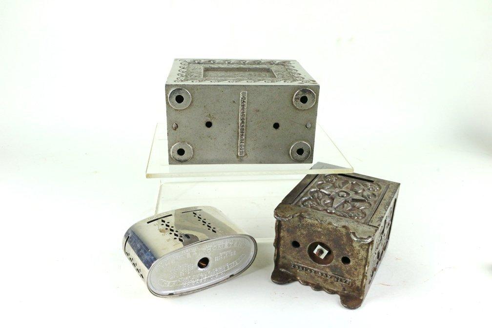 Kodak Safe Deposit Cast Iron Bank Lot - 3