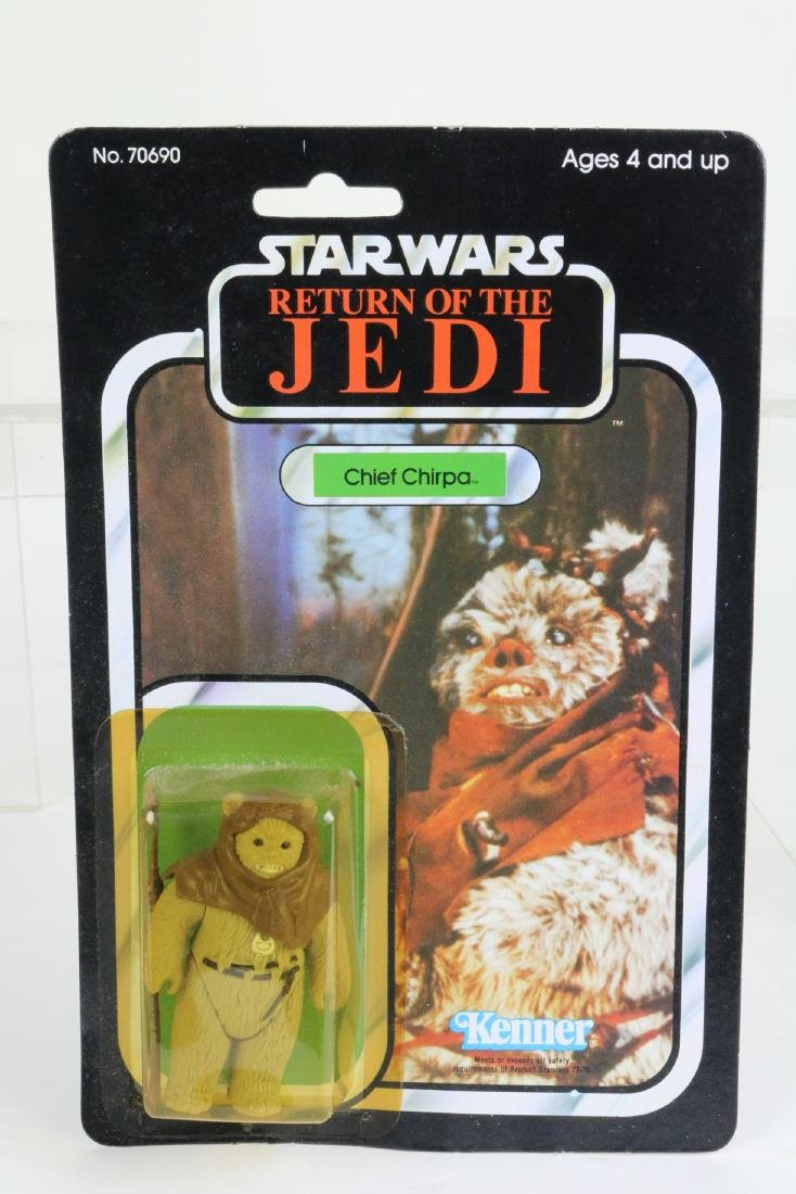 Star Wars Return Of Jedi Chief Chirpa figure MIP