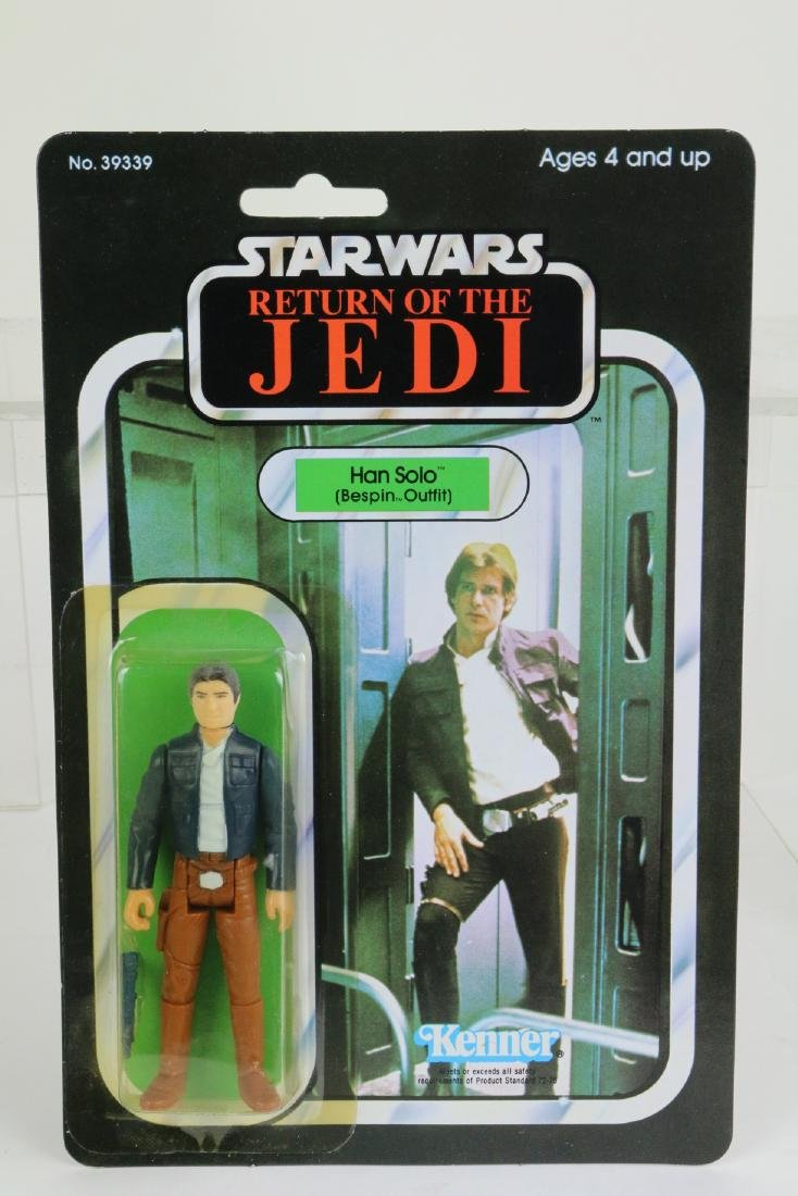Star Wars Return Of Jedi Hans Solo figure MIP