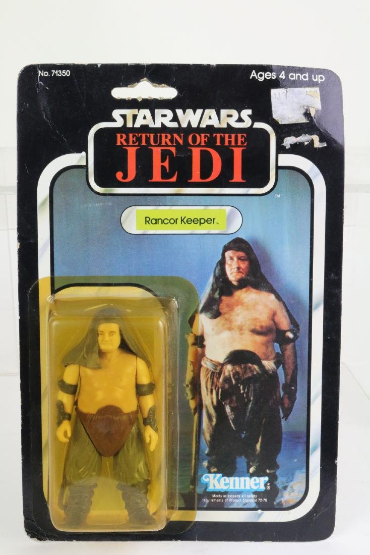 Star Wars Return Of Jedi Rancor Keeper  figure MIP