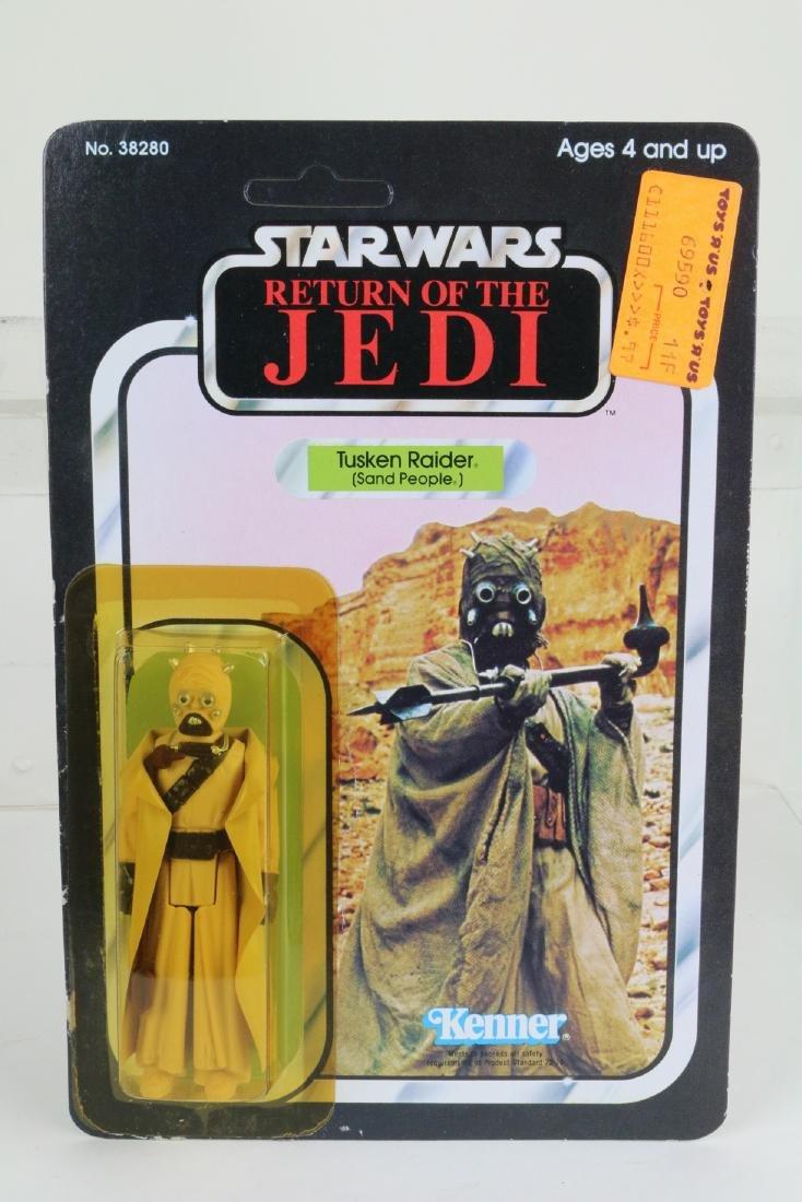 Star Wars Return Of Jedi Tuscan Raider figure MIP 1983