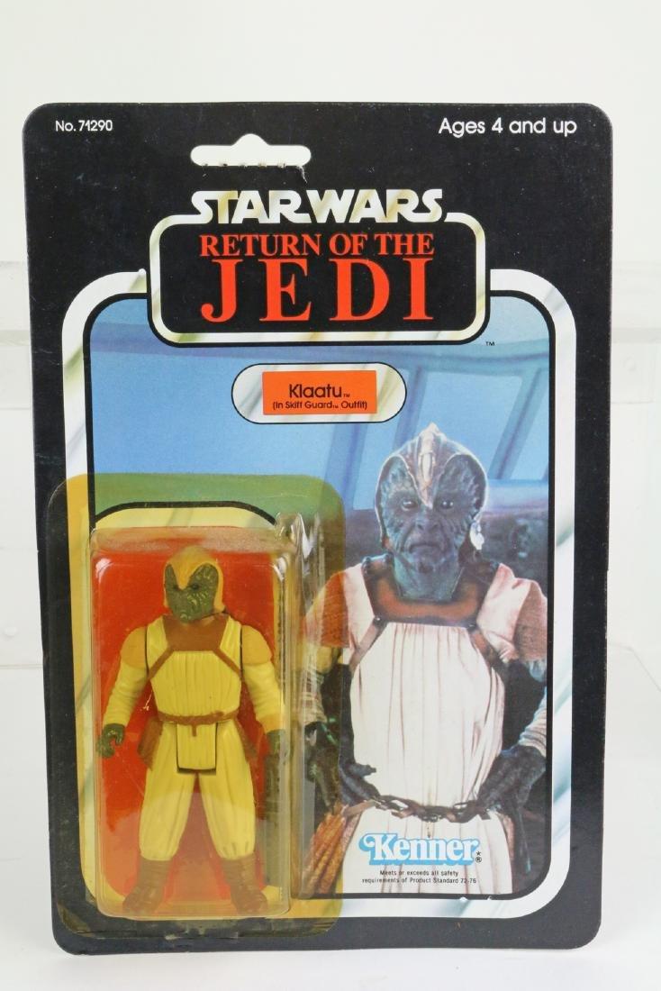 Star Wars Return Of Jedi Klaatu Skiff figure MIP 1983
