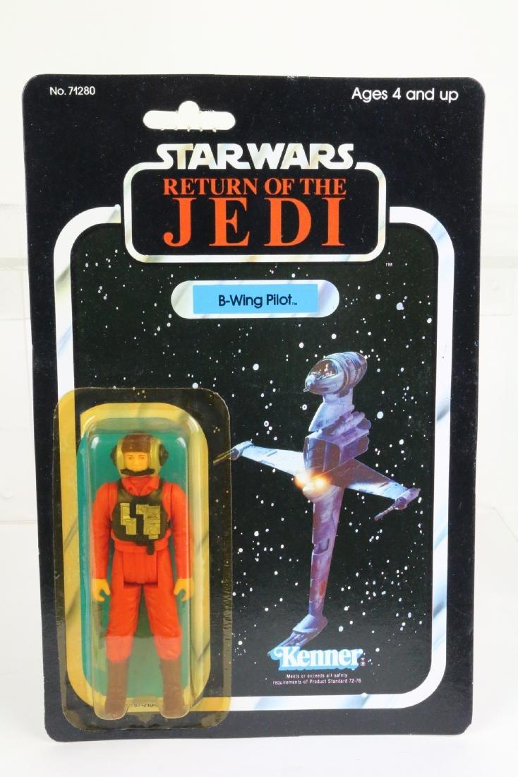Star Wars Return Of Jedi B Wing Pilot figure MIP 1983
