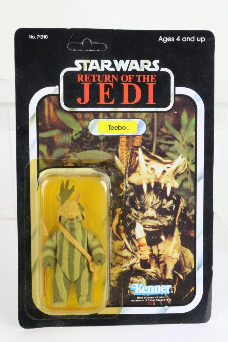 Star Wars Return Of Jedi Teebo figure MIP 1983,