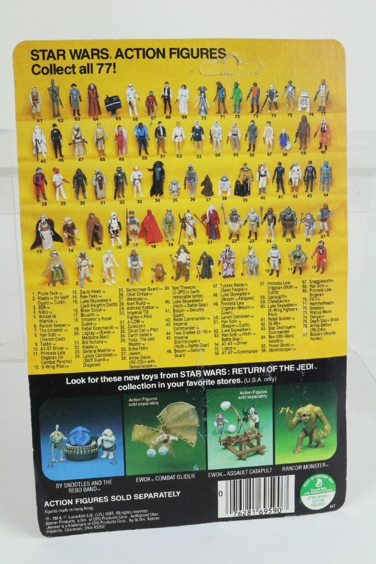 Star Wars Return Of Jedi Teebo figure MIP 1983, - 2