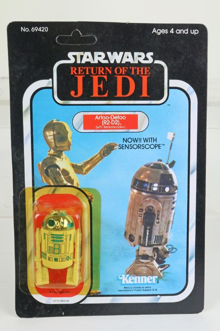 Star Wars Return Of Jedi R2-D2 figure MIP 1983,