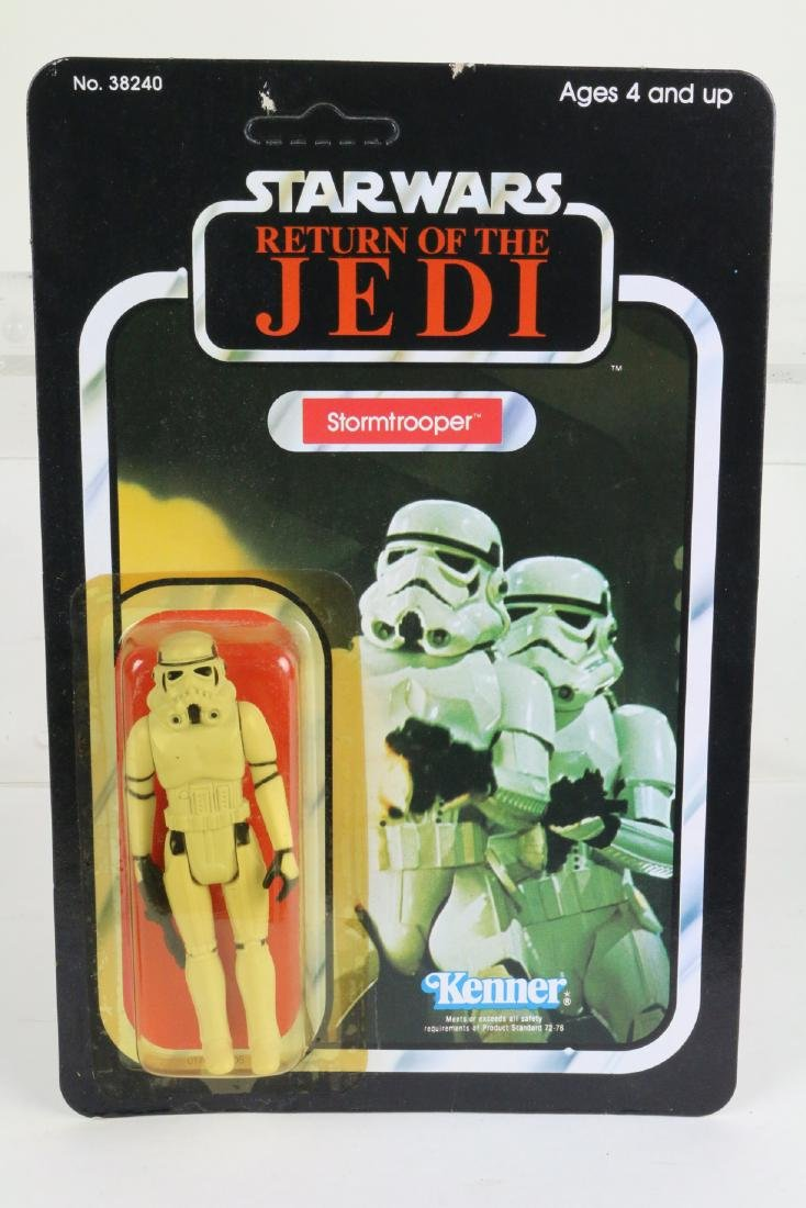 Star Wars Return Of Jedi Stormtrooper figure MIP 1983