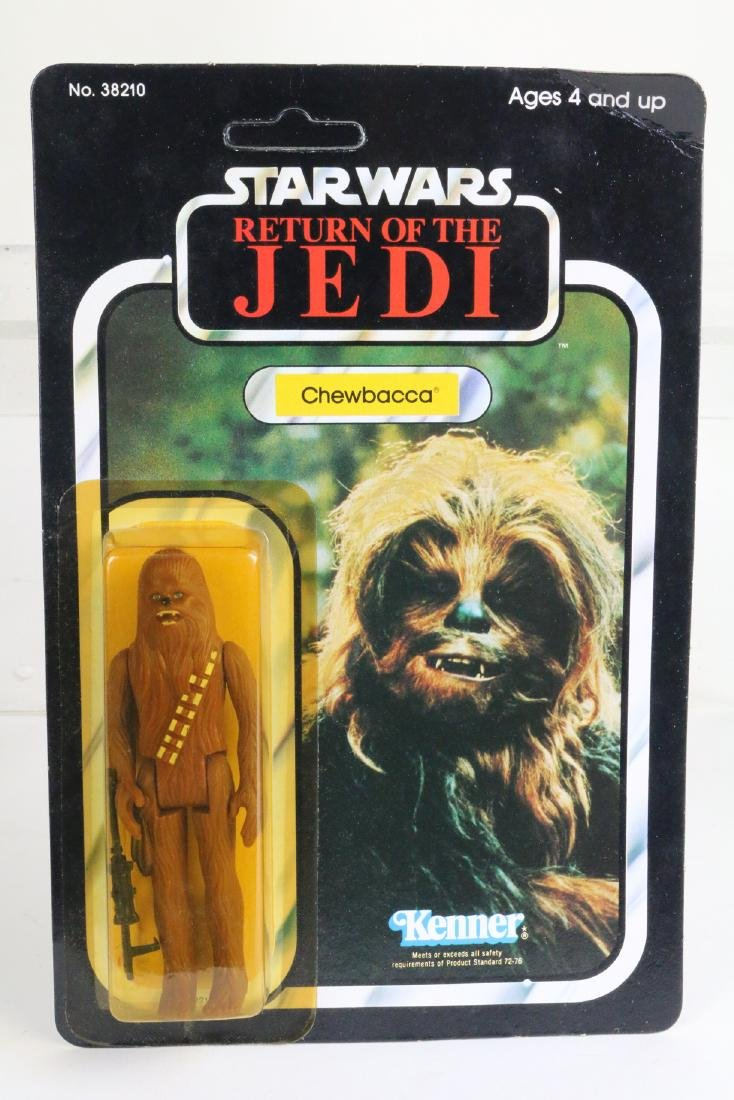 Star Wars Return Of Jedi Chewbacca figure MIP 1983