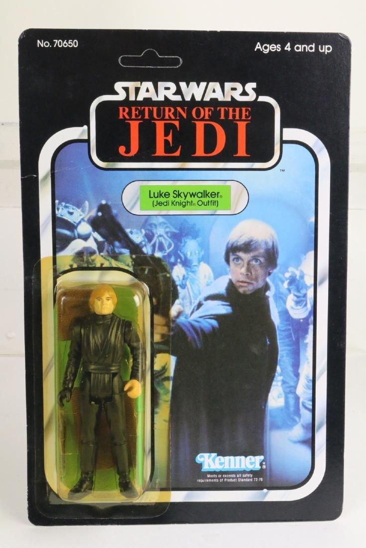 Star Wars Return Of Jedi Luke Skywalker figure MIP 1983