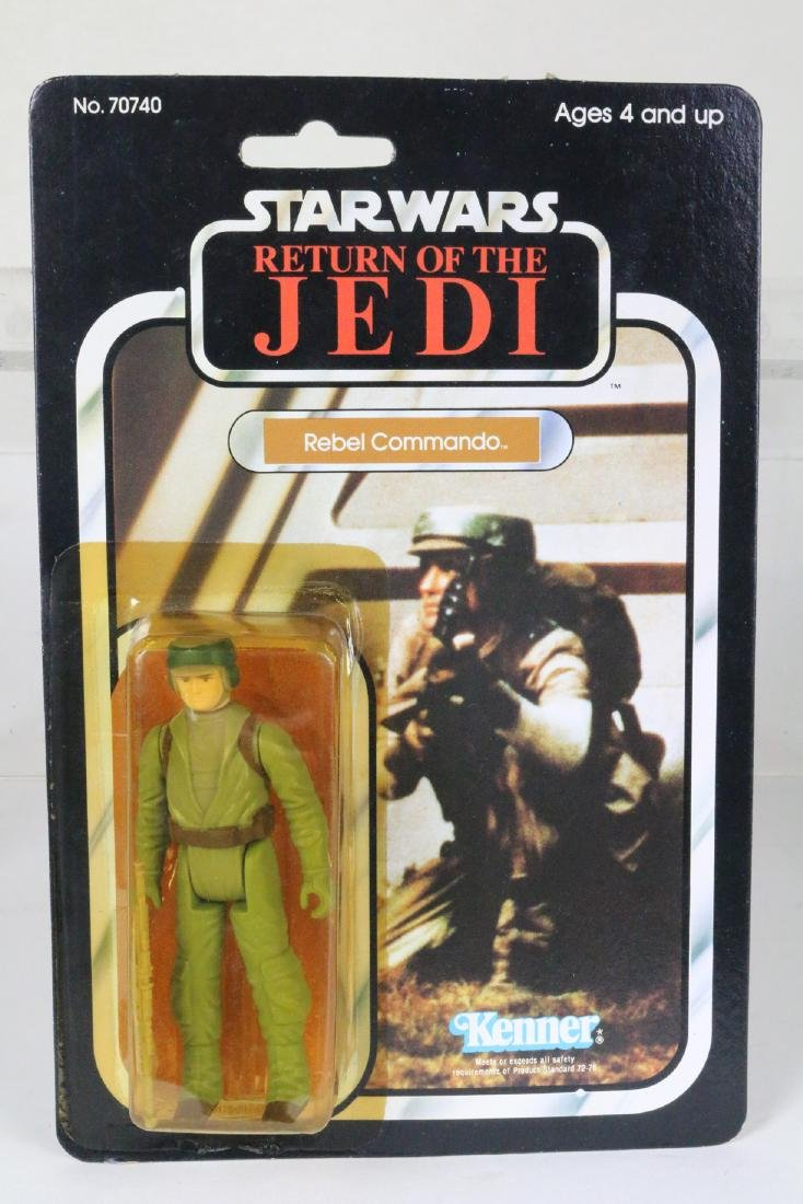 Star Wars Return Of Jedi Rebel Commando figure MIP 1983