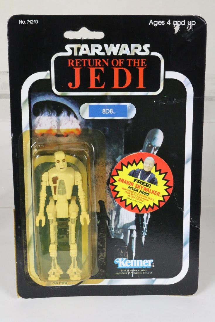 Star Wars Return Of Jedi 8D8 figure MIP 1983