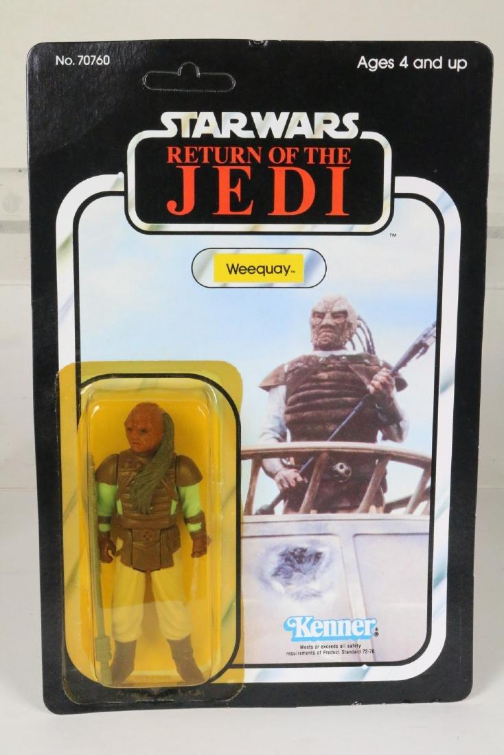 Star Wars Return Of Jedi Weequay figure MIP 1983