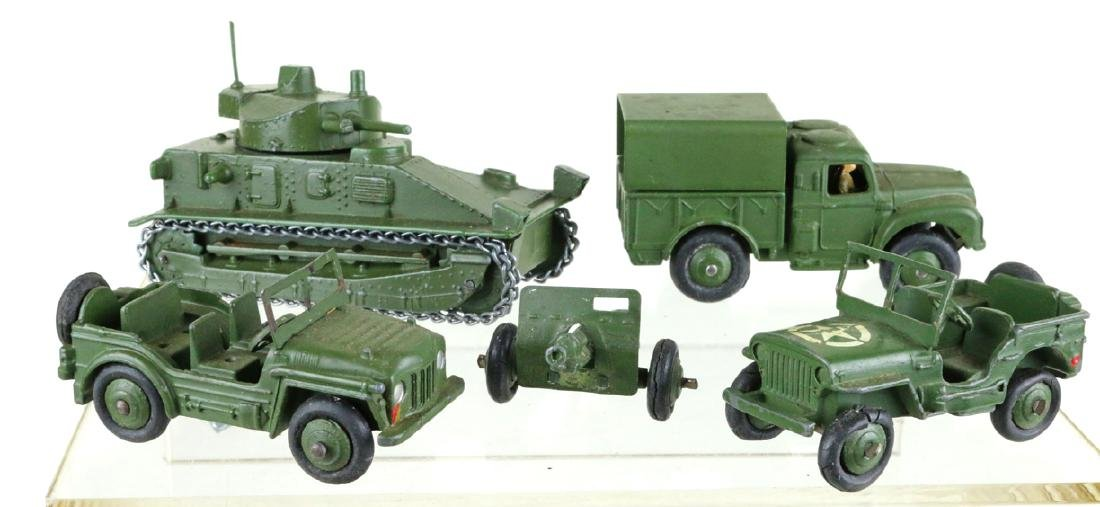 Dinky Military Vehicle Lot - 2