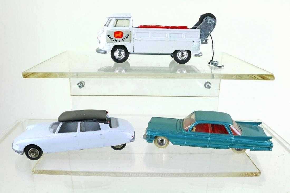 Dinky Corgi Cadillac VW Lot
