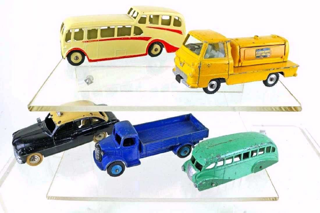 Dinky Car Truck Lot