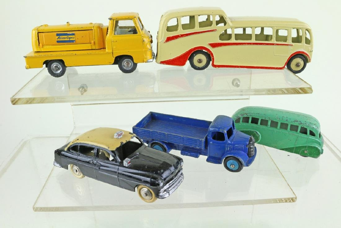Dinky Car Truck Lot - 2