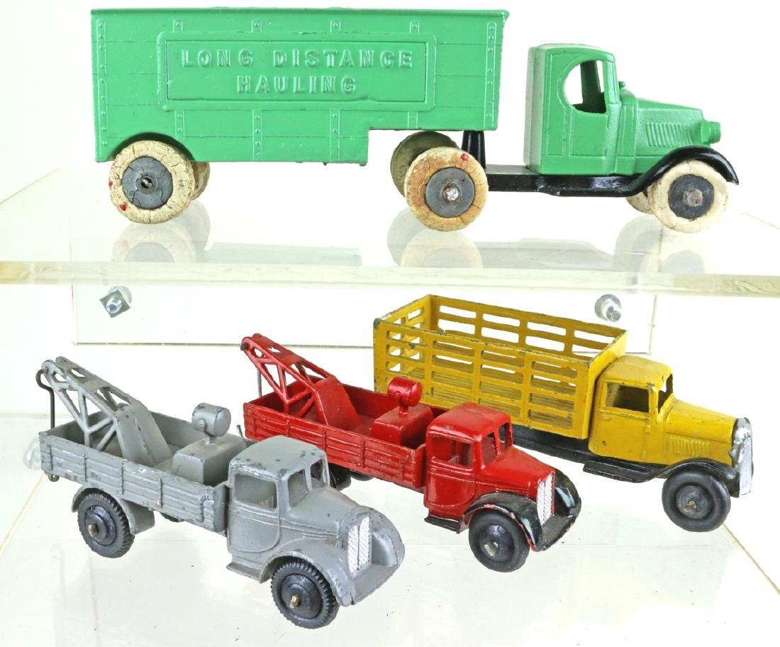 Dinky Tootsietoy Truck Lot Early Dinky Liverpool