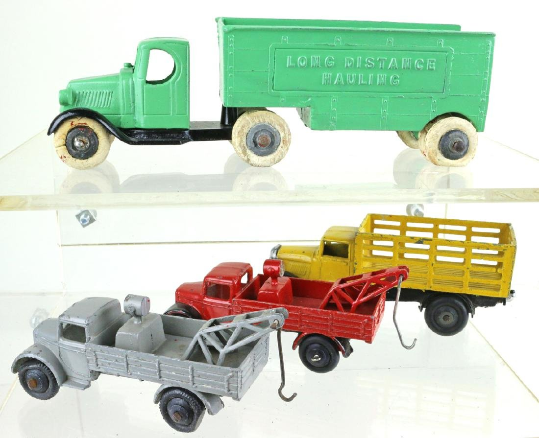 Dinky Tootsietoy Truck Lot Early Dinky Liverpool - 2