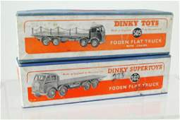 Dinky Foden Flat Truck 502, 505 in Box