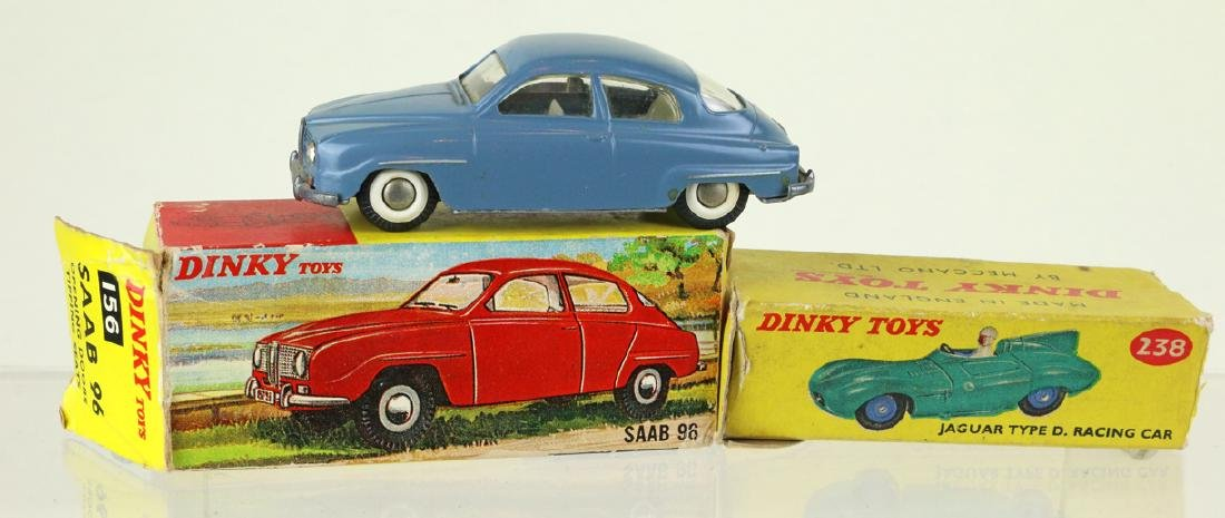 Dinky Techno Boxed Car Lot